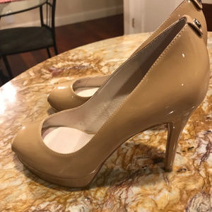 Michael Kors Peep Toe Pumps